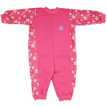 Warm In One Baby Wetsuit Pink Blossom X Large 12-24 Months