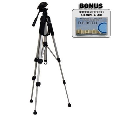 """Deluxe Pro 57"""" Camera Tripod with Carrying Case For The S..."""
