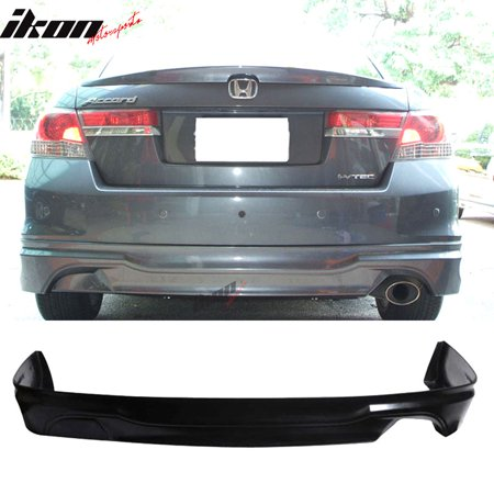 Fits 11-12 Honda Accord Sedan OE-Type Urethane Rear Bumper Lip Spoiler Body - Accord Sedan Front Bumper Cover