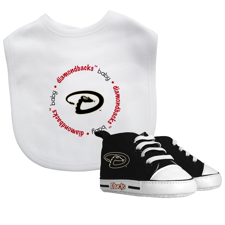 MLB Arizona Diamondbacks Bib & Prewalker Baby Gift Set