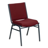 "Flash Furniture HERCULES Series Heavy Duty, 3"" Thickly Padded, Patterned Upholstered Stack Chair with Ganging Bracket, Multiple Colors"