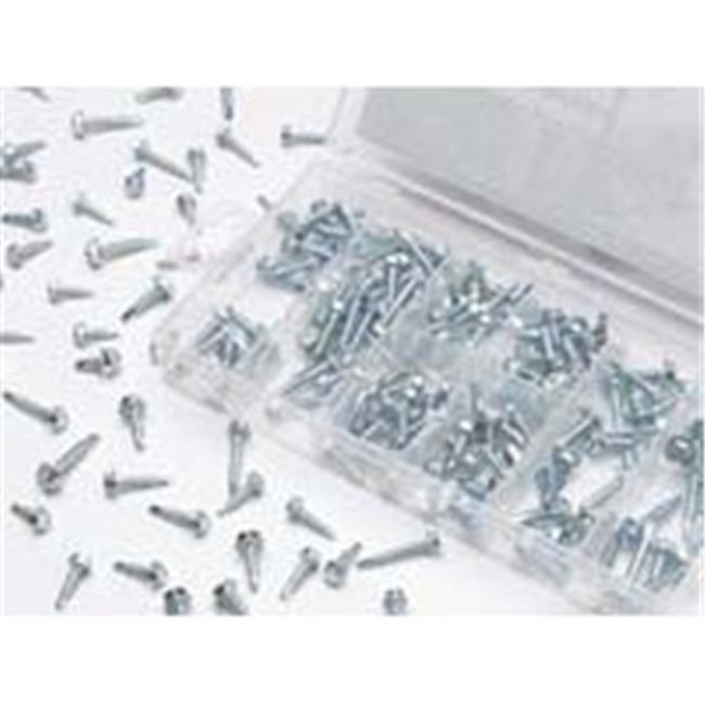 Wilmar PMW5220 200 Piece Hex Head Drill Screw Assortment