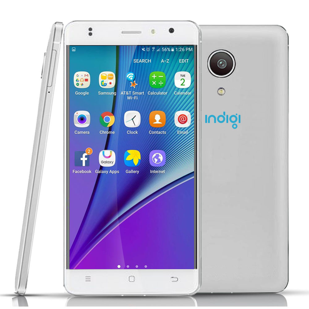 "Indigi® 4G Lte Smart Phone GSM Unlocked Quad Core 5.0"" Android 6.0 MM Google Play Store"