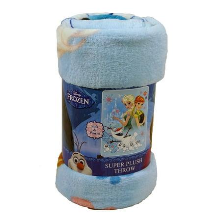 Frozen Movie Frozen Wonderland 46x60 Micro Raschel Plush (Super Plush Raschel Throw)