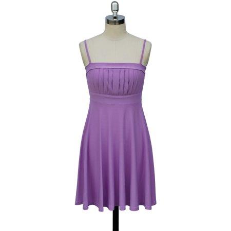 Spaghetti Strap Bridesmaid Wedding Party Prom Cocktail Dress Size  S - 3Xl -