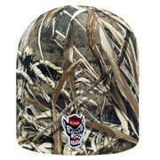 "North Carolina State Wolfpack NCAA TOW ""Seasons"" RealTree Cuffless Knit Hat"