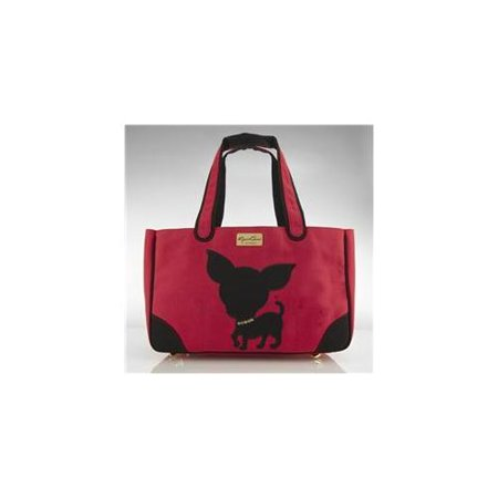 JCLA Chi-R-C Te Quiero Chihuahua Canvas, Red