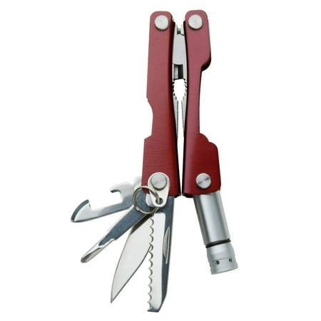 Swiss Tech Products 8-In-1 Mini Multi Tool Keychain