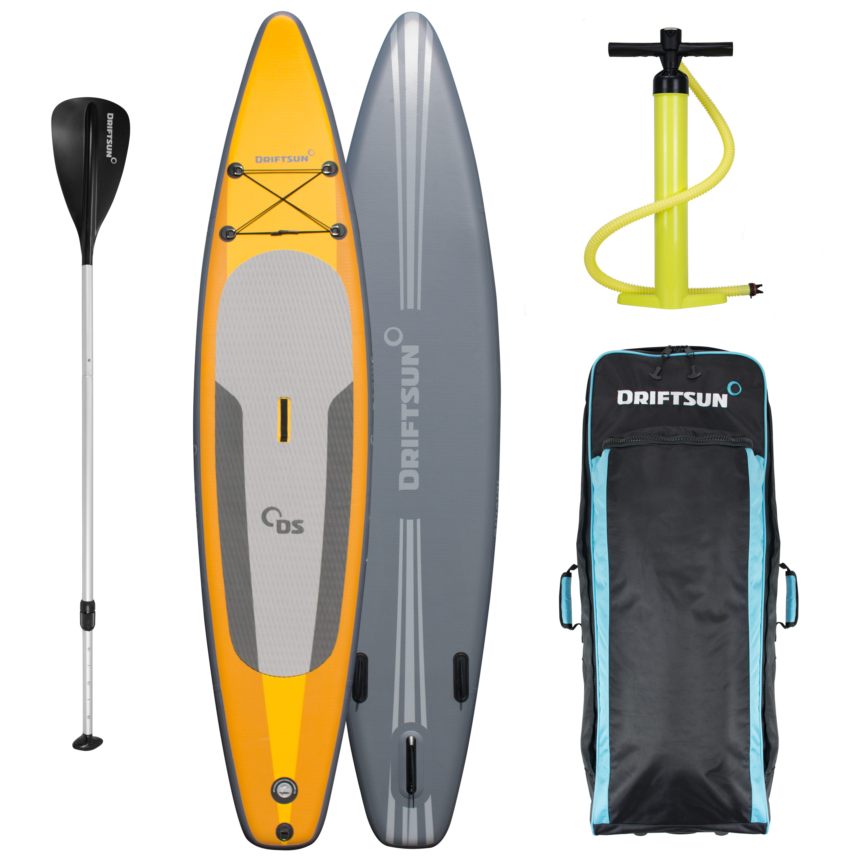 """Driftsun Racing 11 8"""" Touring SUP Inflatable Stand Up Paddle Board 