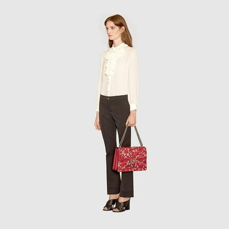 26a5287ab1c009 Gucci - Gucci Dionysus Red Lace Signature Arabesque Med Shoulder Bag  Handbag Italy New - Walmart.com