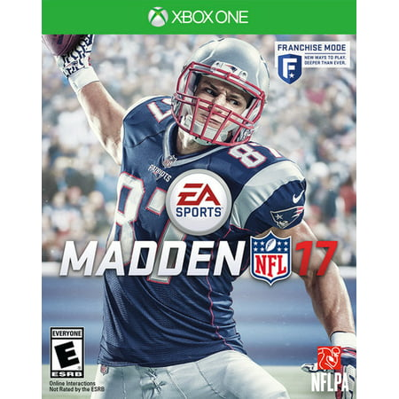 Madden NFL 17, Electronic Arts, Xbox One,