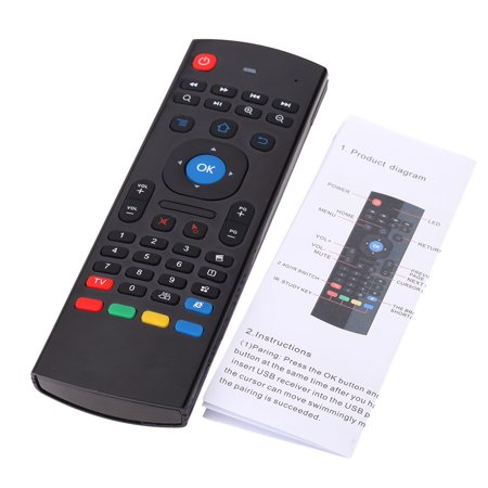 MX3 Portable 2.4G Wireless Remote Control Keyboard Controller Air Mouse for Smart TV Android TV box mini PC