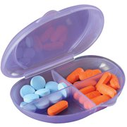 "Apex Pocket Pill Organizer, 1ct ""Color May Vary"""
