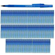 Paper Mate (132 Count) Bulk Pens, Journal Office Supplies, Medium Point Blue Ink Pen