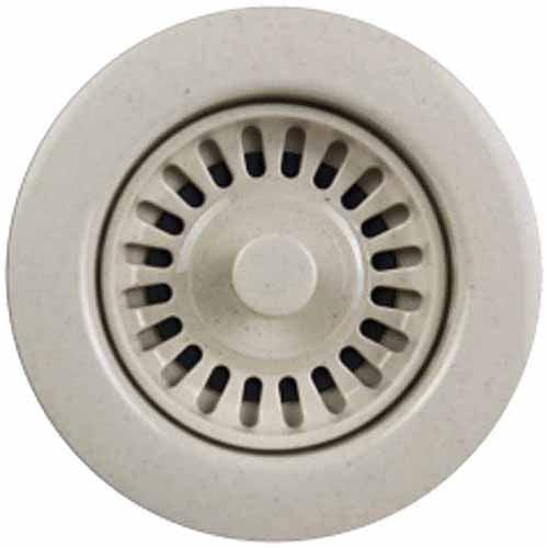 Houzer 190-9567 Speckled Granite Disposal Flange for 3.5-Inch Drain Openings, Bone