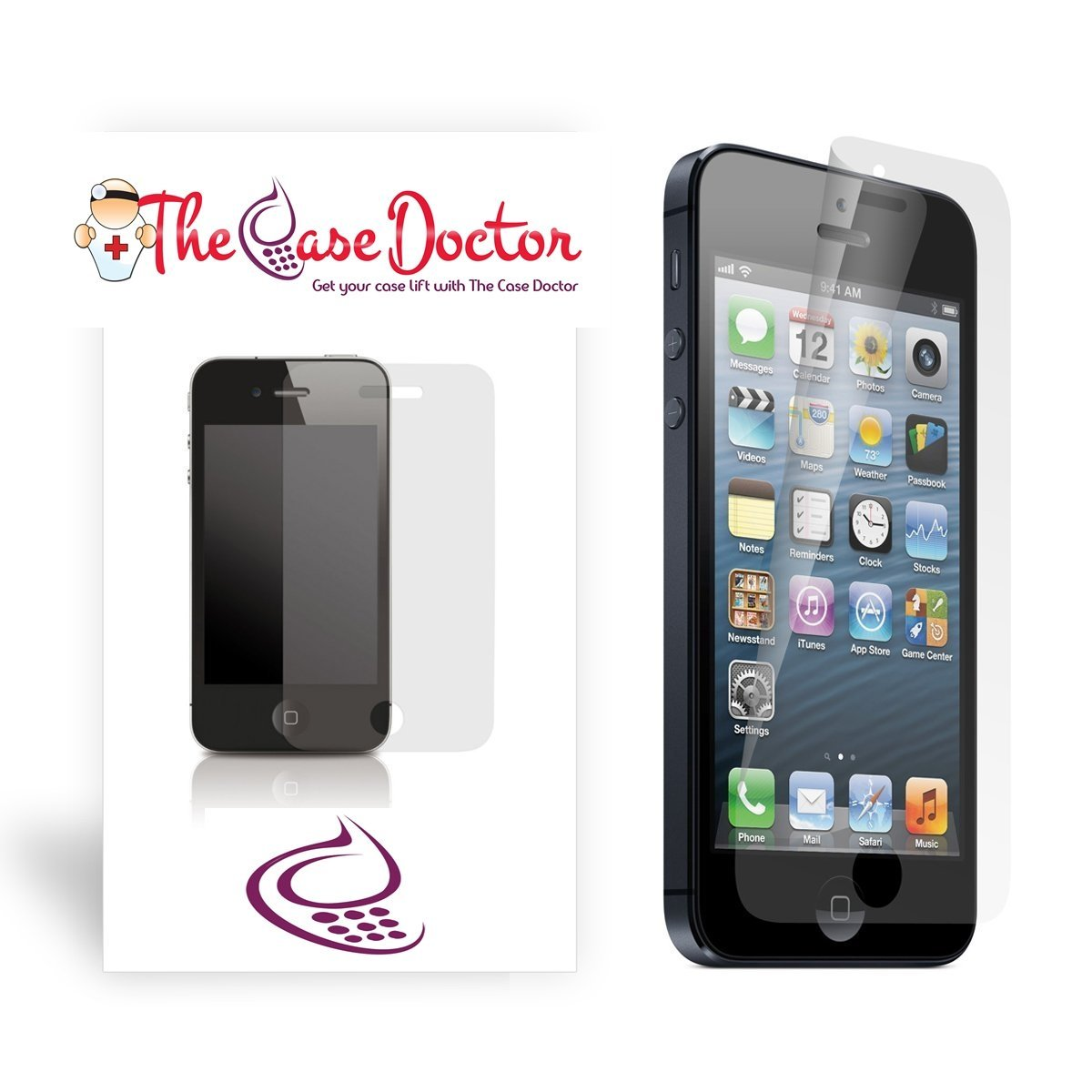 TCD iPhone 6 6S Anti Glare Screen Protector-3 Pack