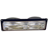 Go-Parts OE Replacement for 1994 Chevrolet Blazer Parking Light Assembly / Lens Cover - Left (Driver) Side 5976837 GM2520128 Replacement For Chevrolet Blazer