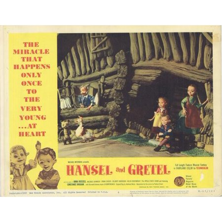 Hansel and Gretel POSTER Movie D Mini Promo (Hansel And Gretel Halloween Costumes)