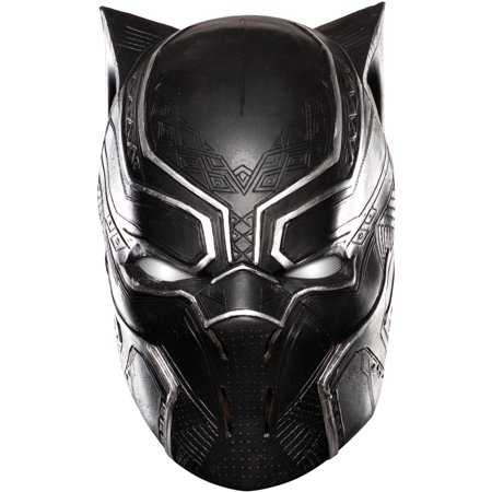 Child's Captain America Civil War Black Panther Full Mask Costume Accessory - Captain America Accessories