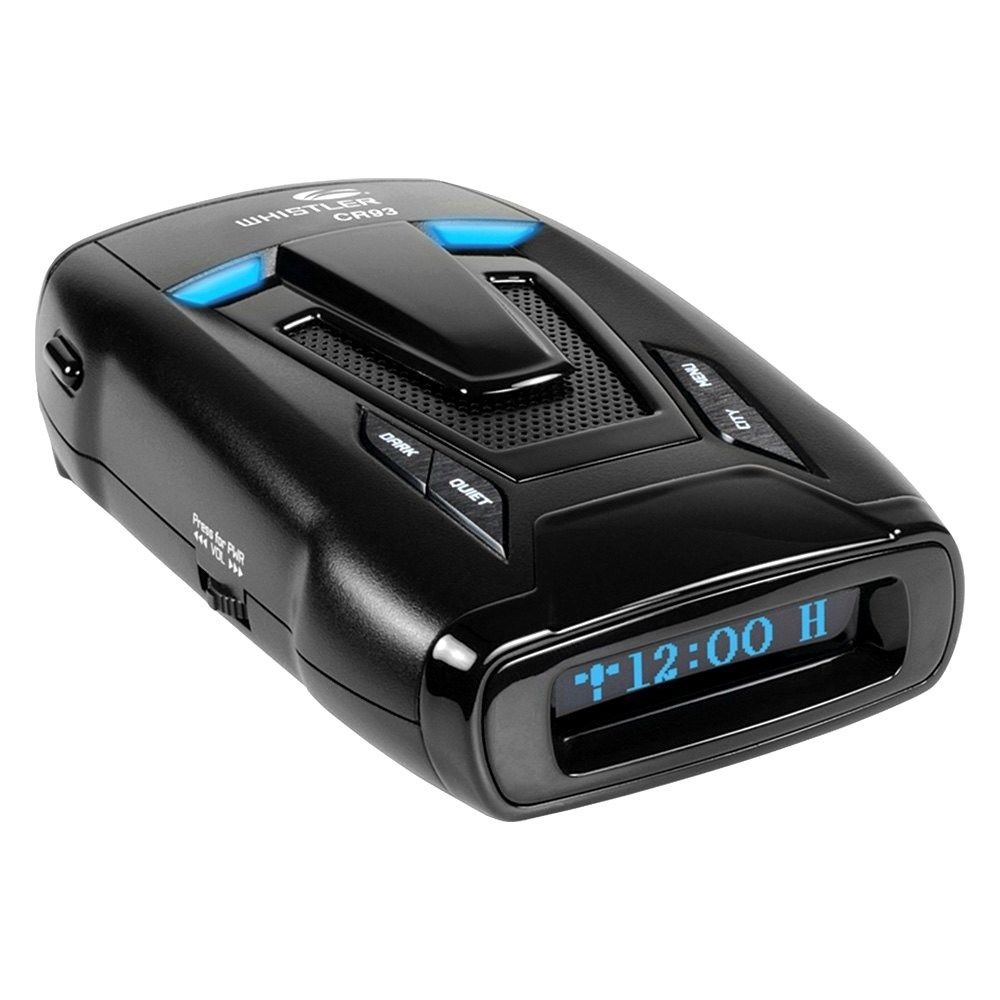 New Whistler CR93 Police Laser Radar Detector K KA X Maxx POP OLED Text w  GPS by Whistler