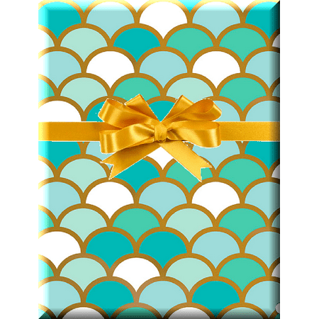 Mermaid Scales Gift Wrap Wrapping Paper