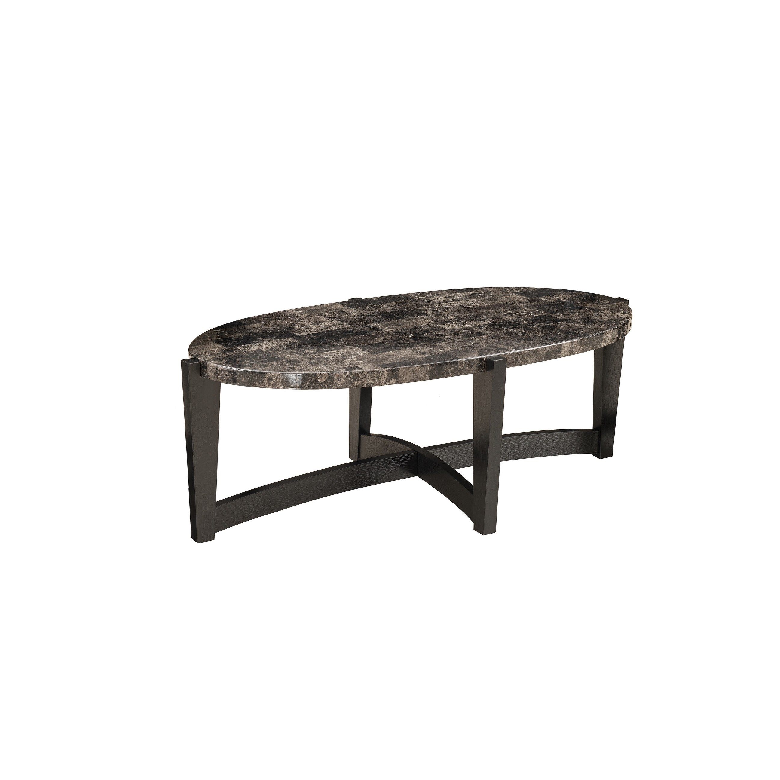 United Furniture 49.25 In. Oval Cocktail Table