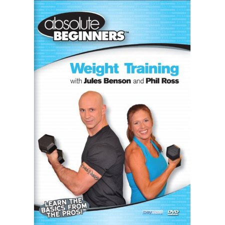 Absolute Beginners Fitness: Weight Training With Jules Benson and PhilRoss (DVD) (Sql Training Dvd)