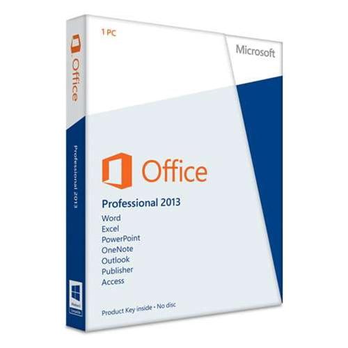 Microsoft Office Professional 2013 - 1 PC - Card