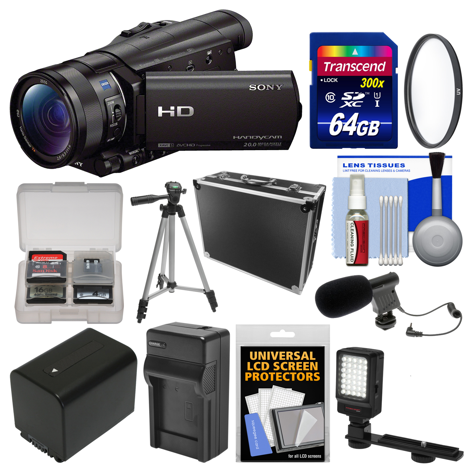 Sony Handycam HDR-CX900 Wi-Fi HD Video Camera Camcorder w...