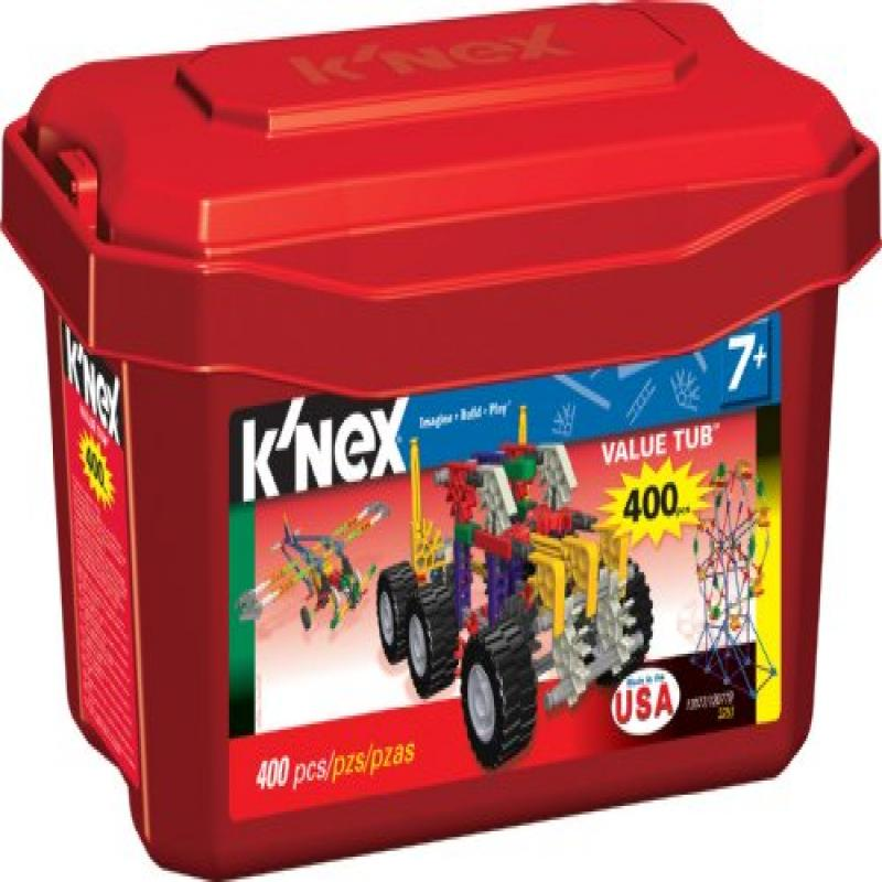 Knex Value Tub 400 pieces by