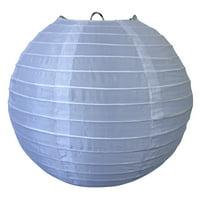 Asian Import Store Distribution 10 in. White Nylon Lantern