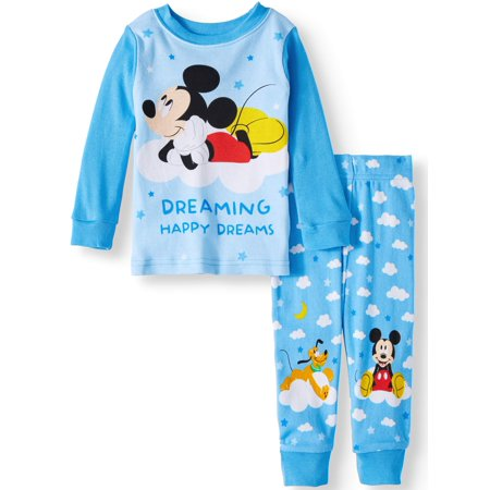 Mickey Mouse Cotton Tight Fit Pajamas, 2-piece Set (Baby - Baby Mickey Mouse Costume