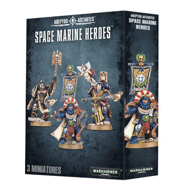 Space Marine Heroes New by Games Workshop