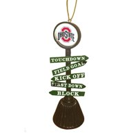 Evergreen Enterprises, Inc Fan Crossing Shaped Ornament