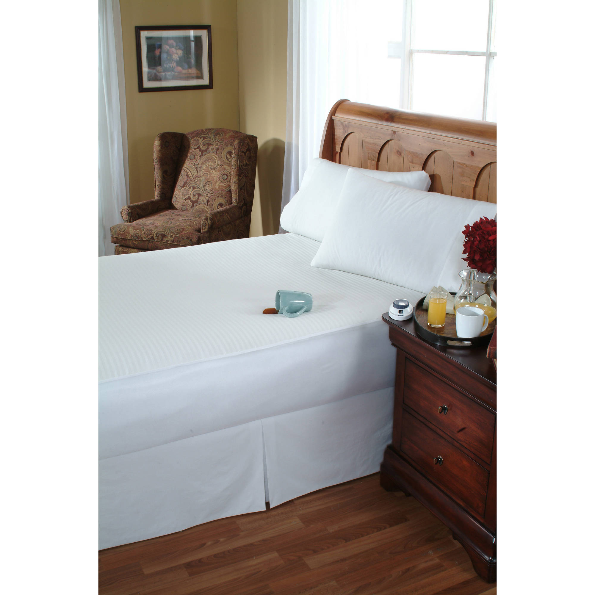 Waterproof Heated Mattress Pad Queen Size - Walmart.com ...