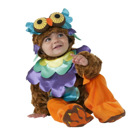 Infant Night Owl Costume by Rubies - Owl Infant Costume