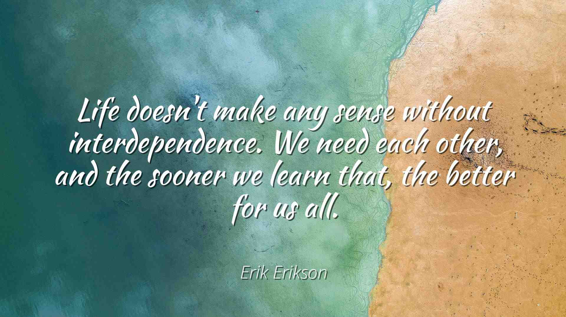 Erik Erikson Famous Quotes Laminated Poster Print 24x20 Life