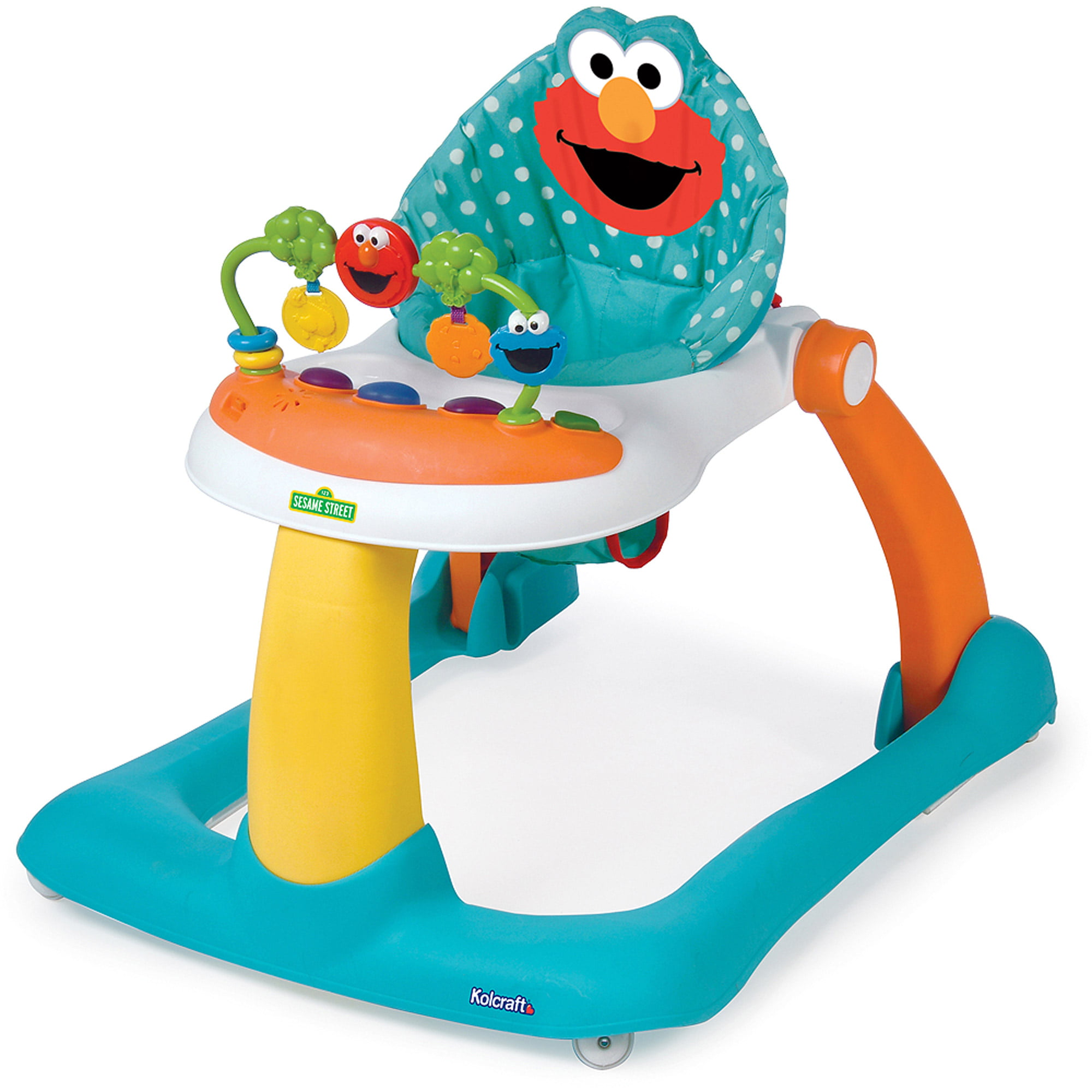 Sesame Street Elmo 2-in-1 Activity Walker - Walmart.com