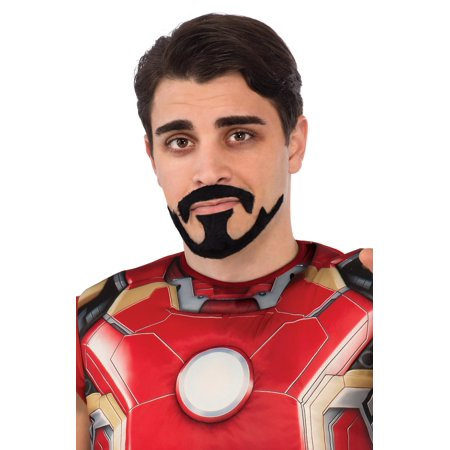 Avengers 2 Tony Stark Moustache and - Goatee Beard Without Moustache
