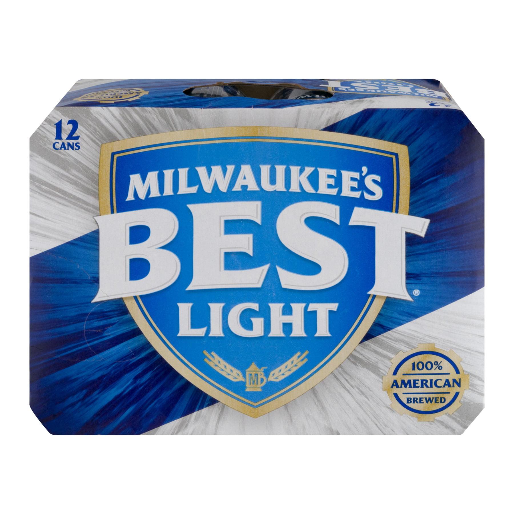Milwaukee\'s Best Light Beer, 12 pk, 12 oz. Cans, 12.0 OZ - Walmart.com