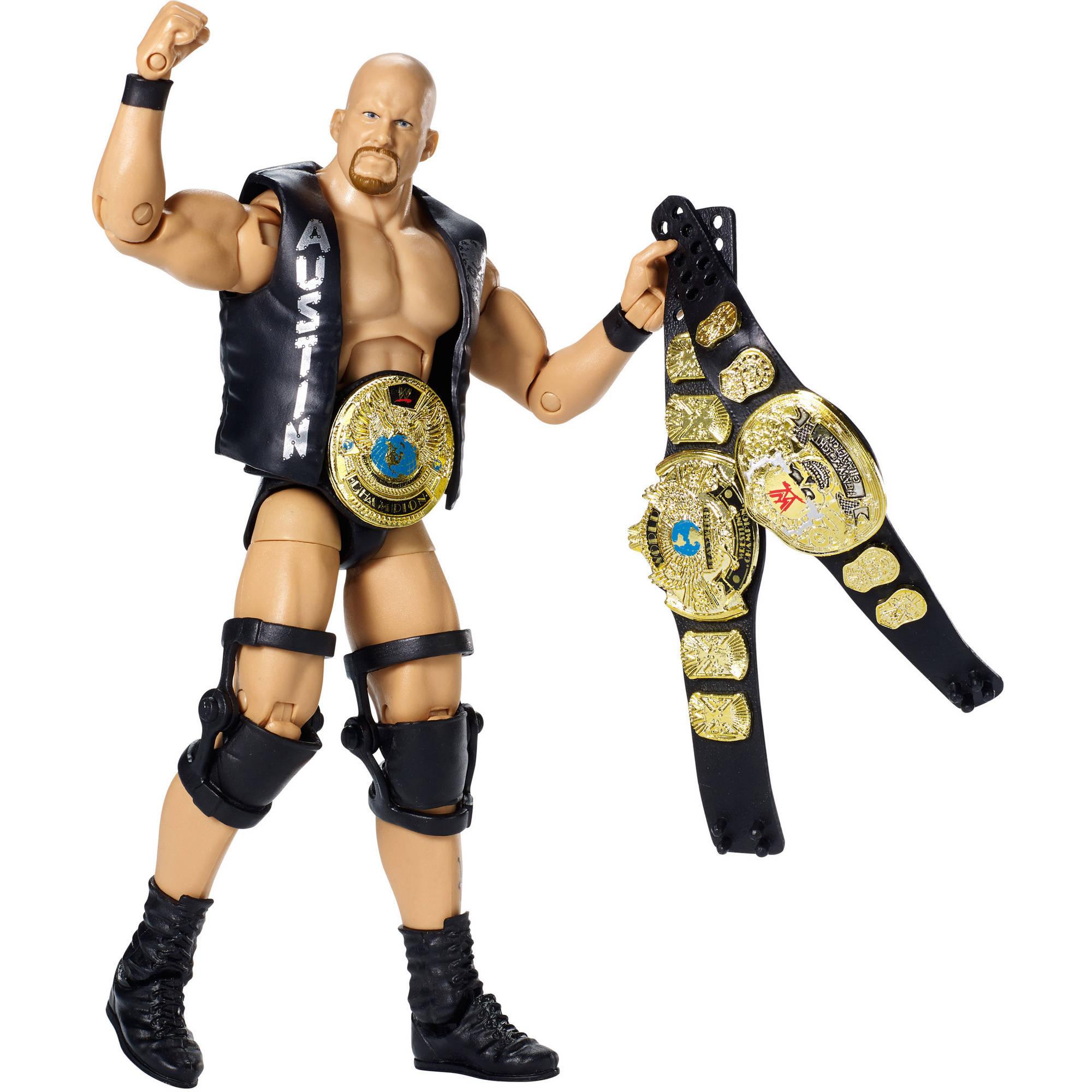 WWE Defining Moments Elite Stone Cold Steve Austin Figure