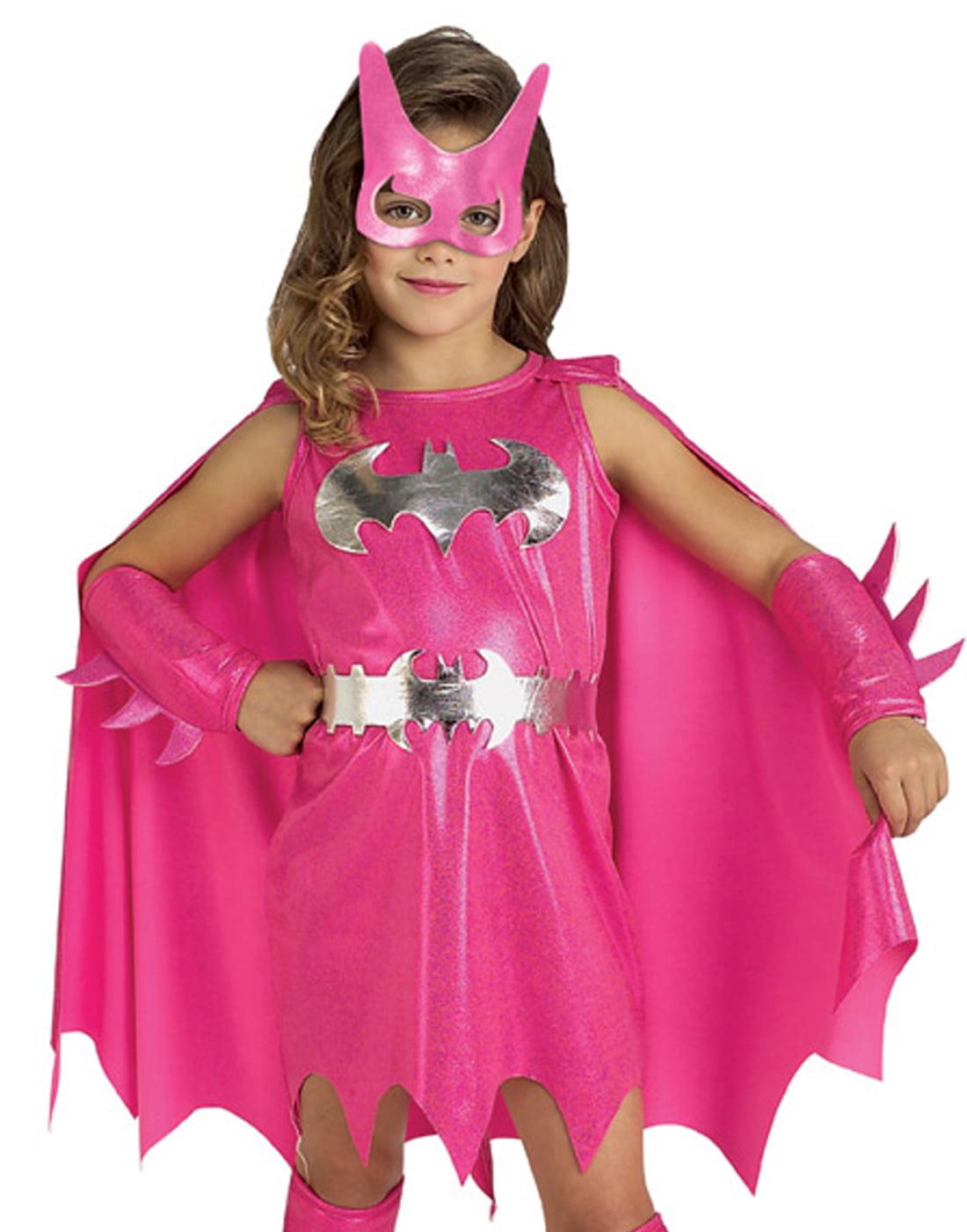 sc 1 st  Walmart & Pink Batgirl Child Halloween Costume - Walmart.com
