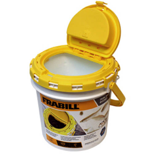 Frabill Insulated Fish Bait Bucket with Built-In Aerator