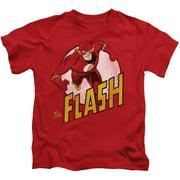 Dc Flash - The Flash - Juvenile Short Sleeve Shirt - 4