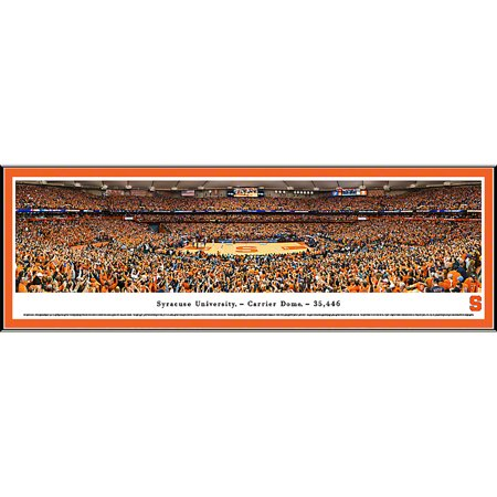 Syracuse University Basketball   Blakeway Panoramas Ncaa College Print With Select Frame And Single Mat