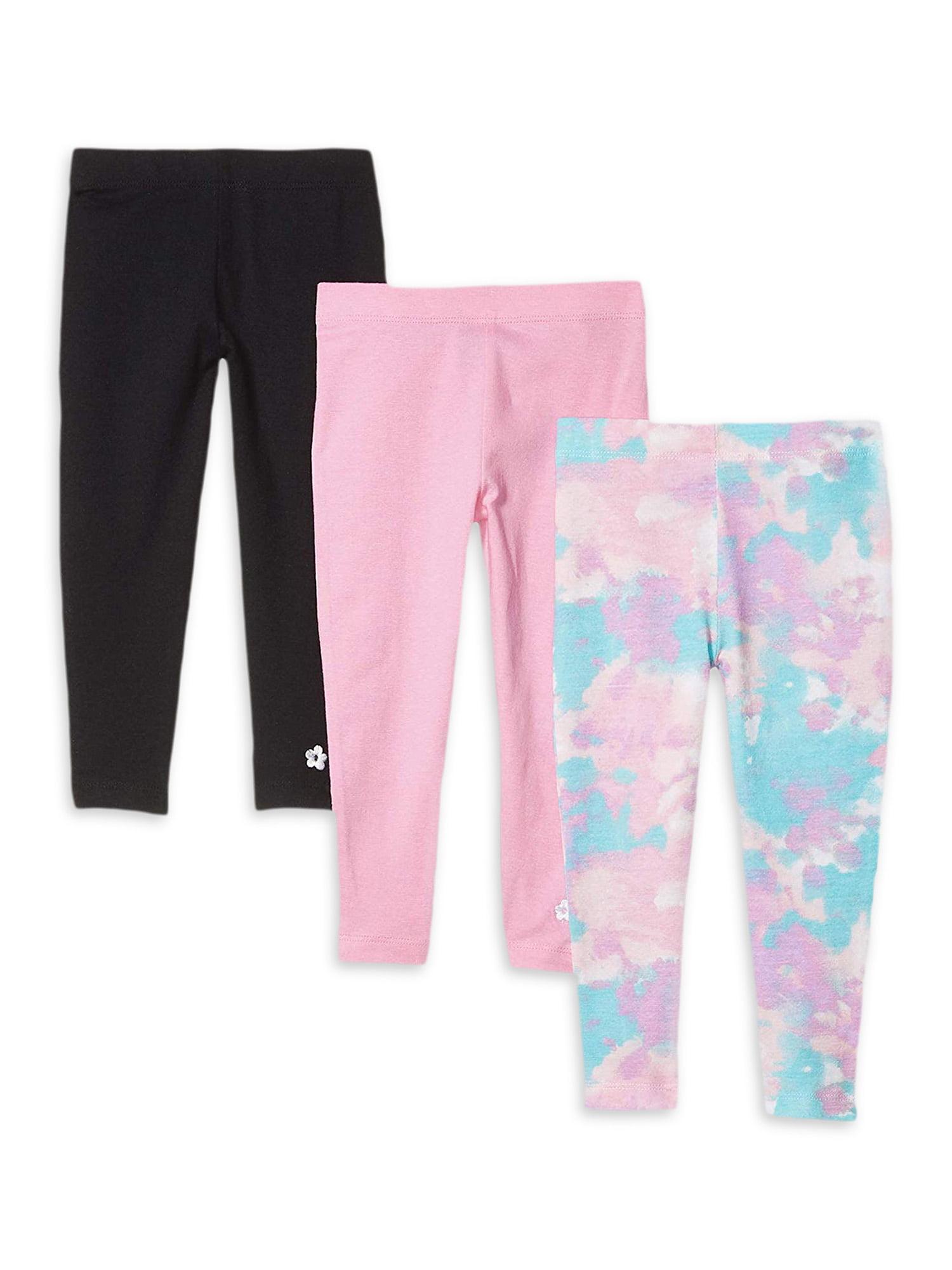 JoJo Siwa Sneaker Bow Glitter Ponte Leggings Pants Black Pink Girls S M L XL