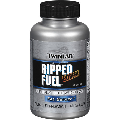 Twinlab Ephedra Free Extreme Ripped Fuel Capsules, 60ct