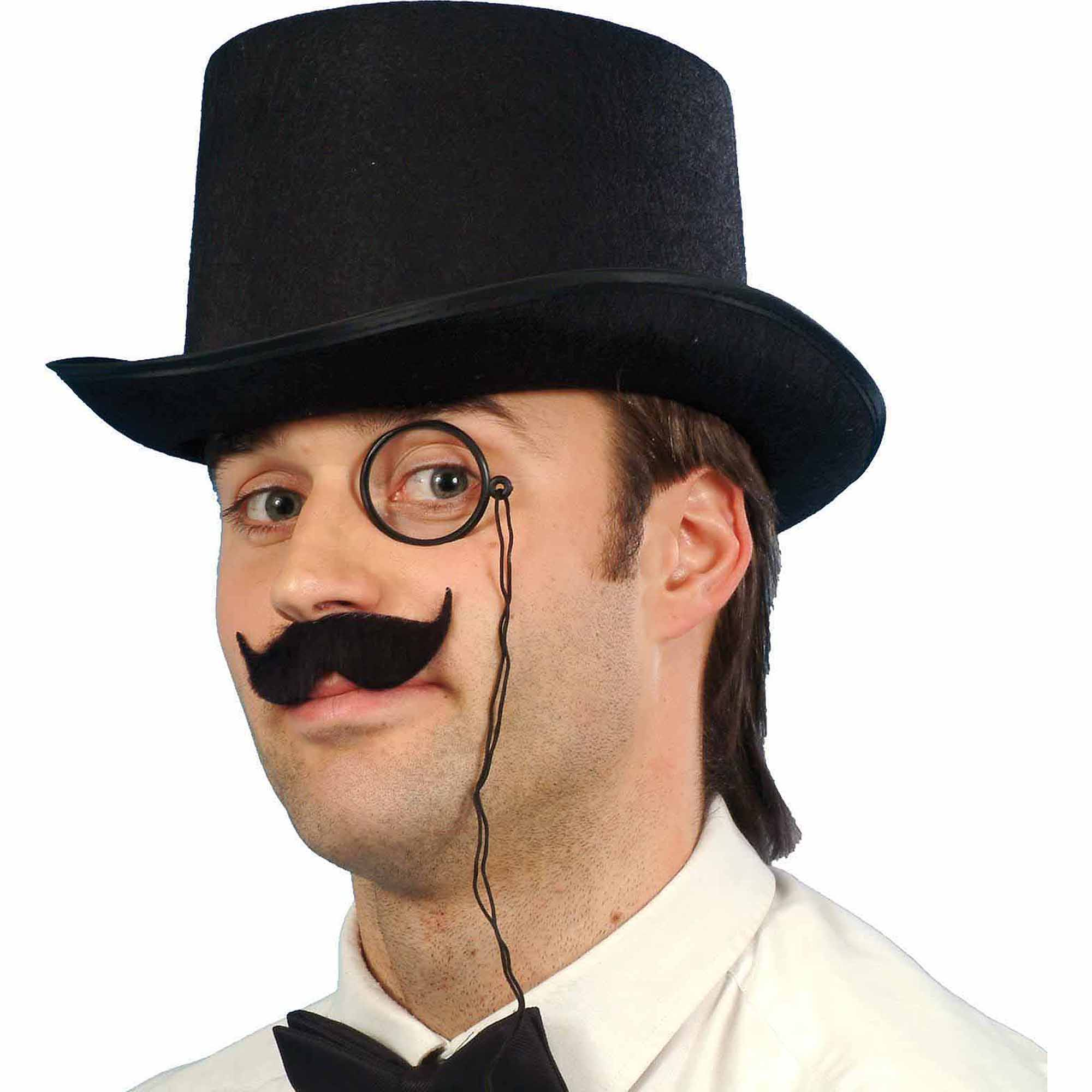 The Durashape Top Hat Adult is a perfect accessory for your Halloween costume this year. Accessorize your costume with our exclusive props, decorations, wigs and many more at Costume SuperCenter. Set your costume above the rest!