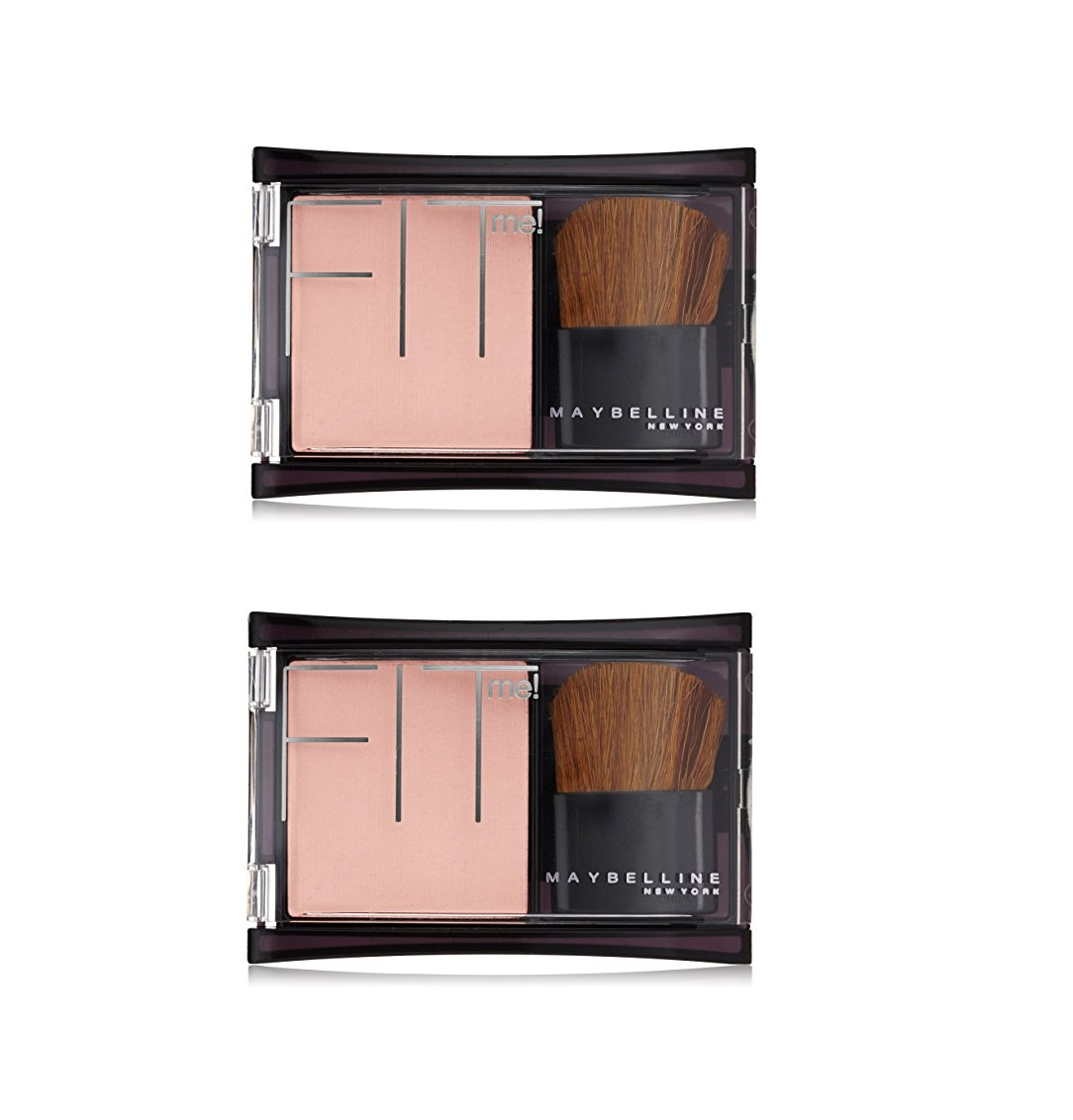 Maybelline FIT Me! Blush #104 Light Pink (Pack of 2)