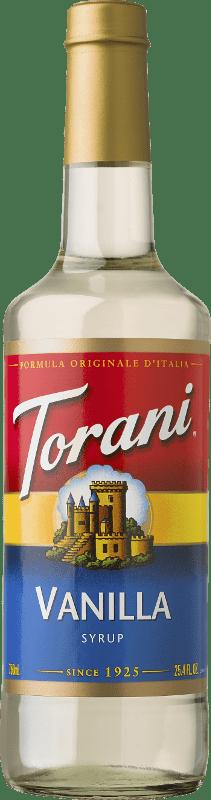 Torani Vanilla Syrup, Coffee Flavoring, Drink Mix, 750ml